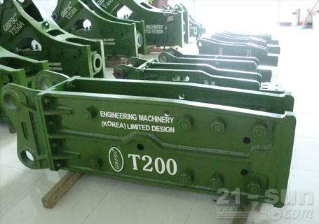 连云港工兵T200直立型破碎锤