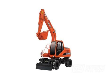 斗山DH150W-7轮式挖掘机