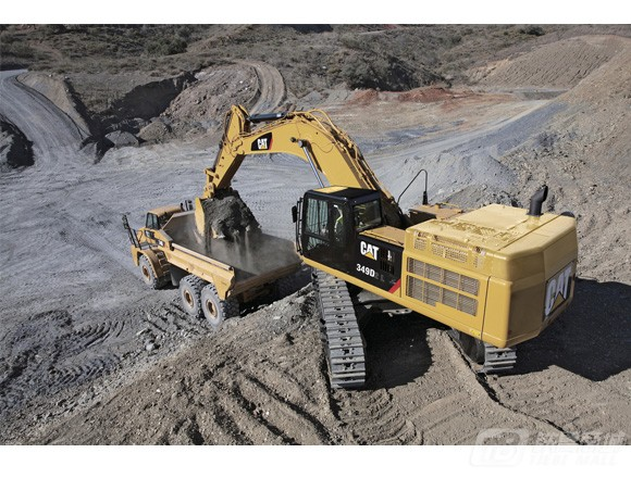 卡特彼勒349D2/D2L液压挖掘机