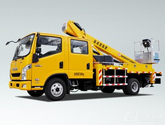 海伦哲XHZ5071JGKA5跃进18m伸缩臂高空作业车