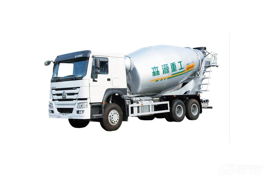 森源ZZ5257GJBN4347E1重汽底盘混凝土搅拌车