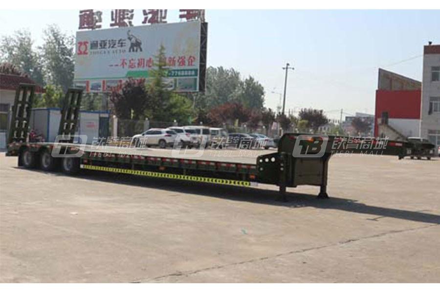 通亚汽车CTY9401TDPB1低平板半挂车
