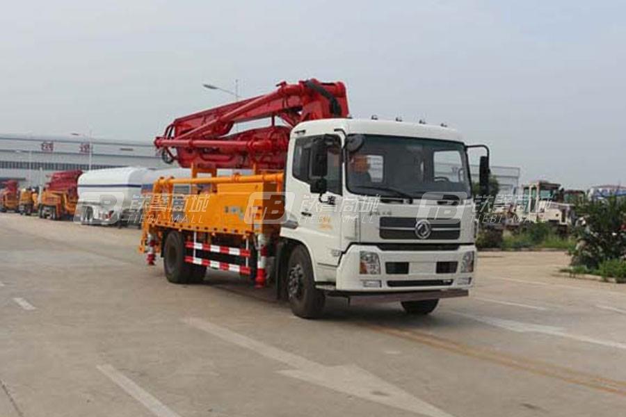 通亚汽车CTY5160THB混凝土泵车