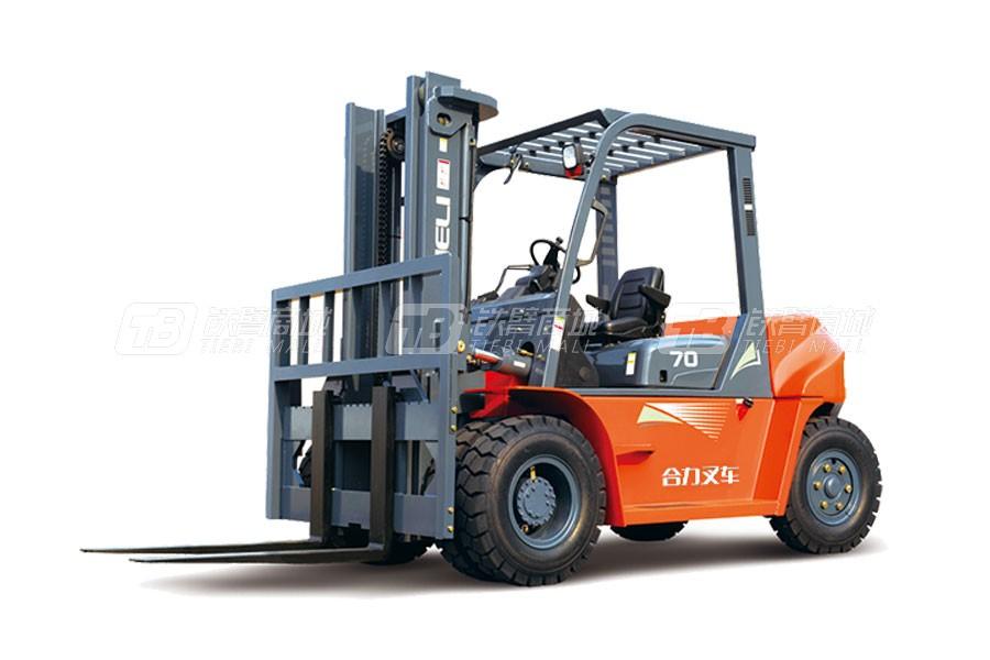 合力CPCD50G系列5吨柴油平衡重式叉车
