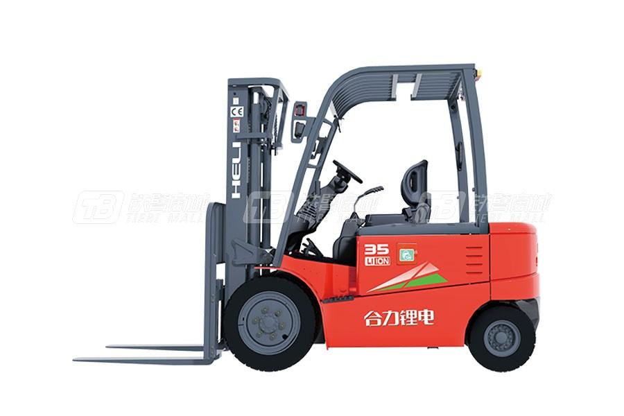 合力CPD35G系列3.5吨锂电池平衡重式叉车