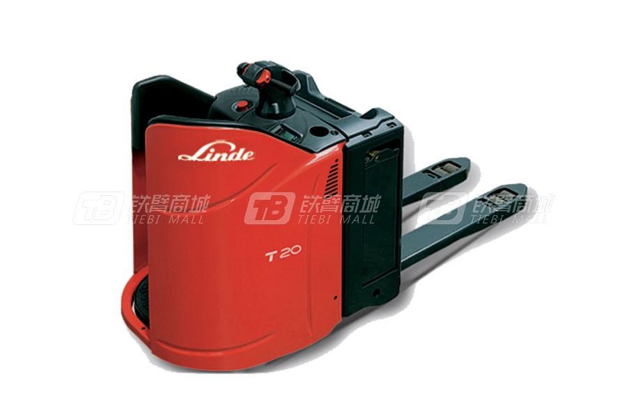 林德T20SP站驾式电动托盘搬运叉车