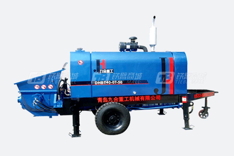 九合重工HBT40大骨料混凝土泵
