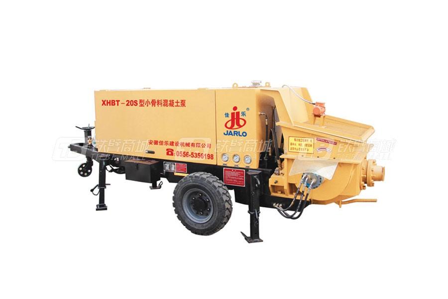 佳乐XHBT-20S/1010小骨料混凝土泵