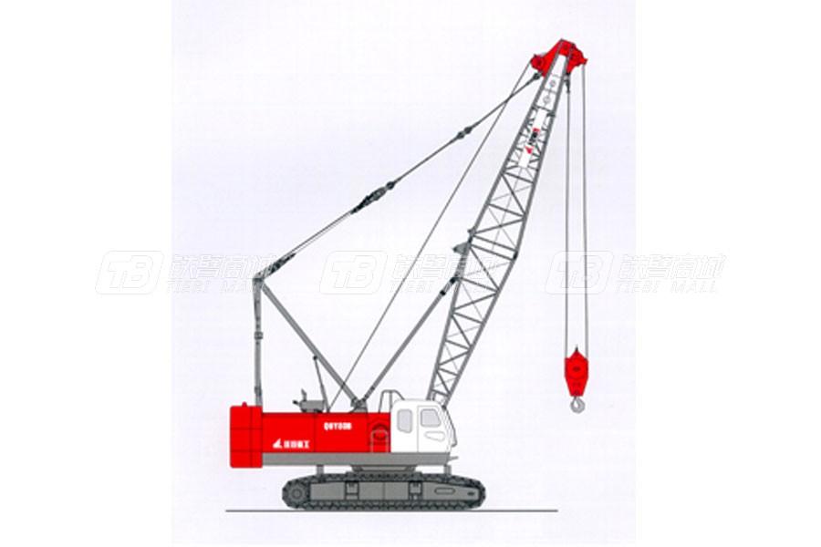 抚挖重工QUY80B液压履带式起重机