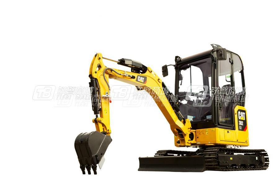 卡特彼勒新一代CAT®302 CR小型液压挖掘机