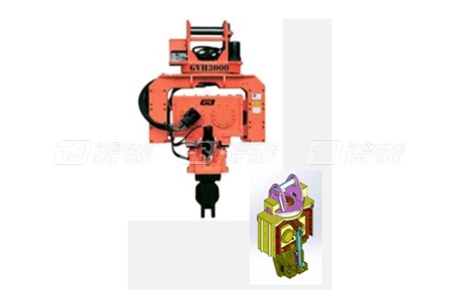 工兵GVH2500液压打桩机