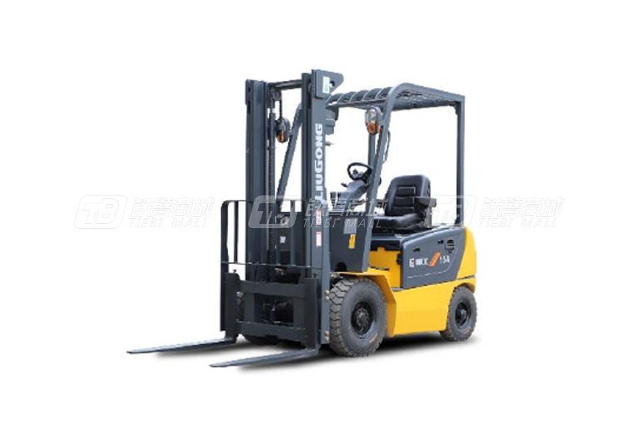 柳工CLG2015A-S四支点单驱1.5T电动平衡重式叉车