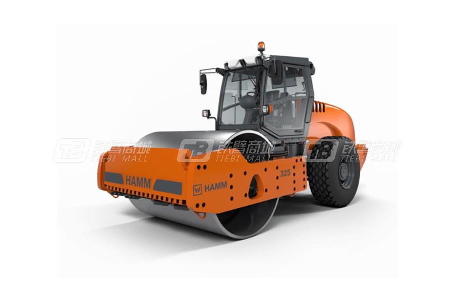 悍马325光轮式单钢轮压路机