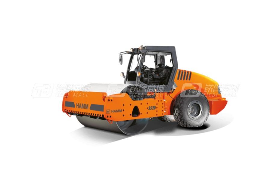悍马3520光轮式单钢轮压路机