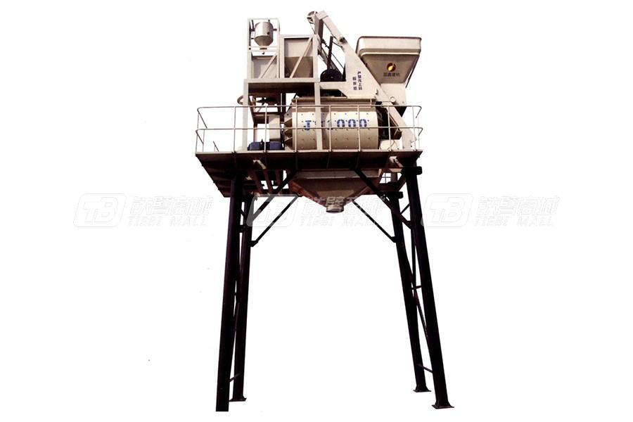 圆鑫建机JS系列强制式双卧轴砼搅拌机