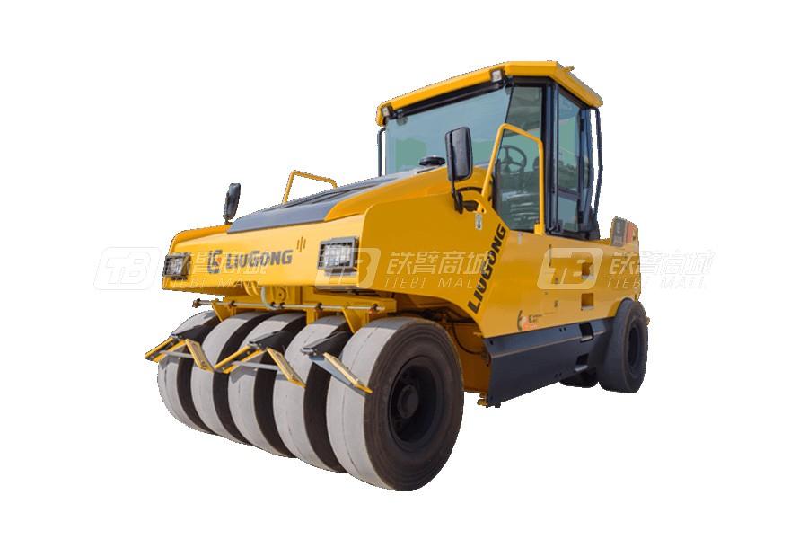 柳工6530E轮胎压路机