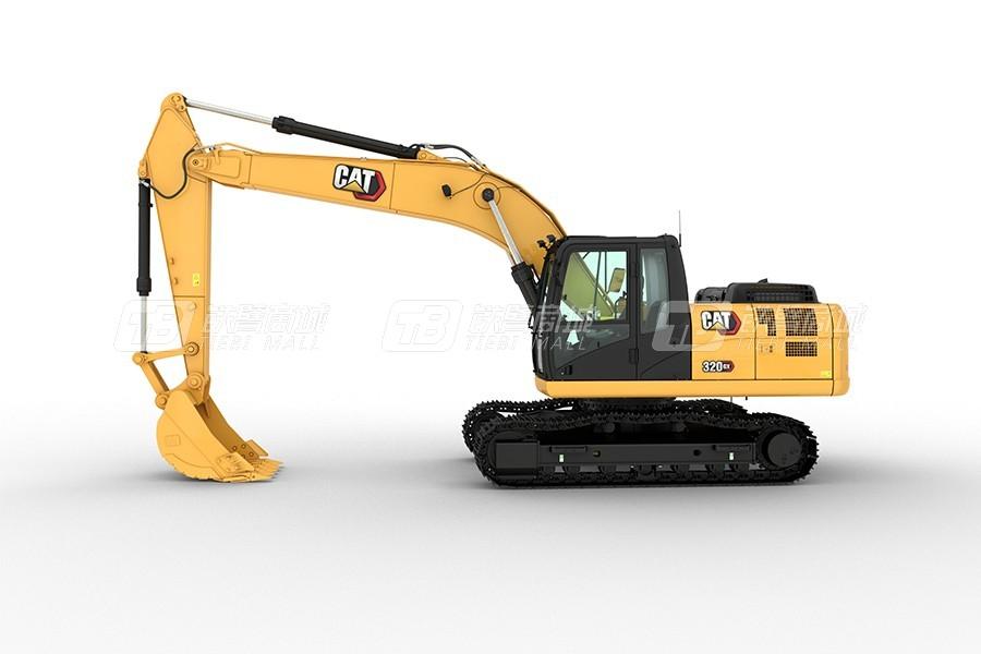 卡特彼勒新经典CAT® 320 GX履带挖掘机