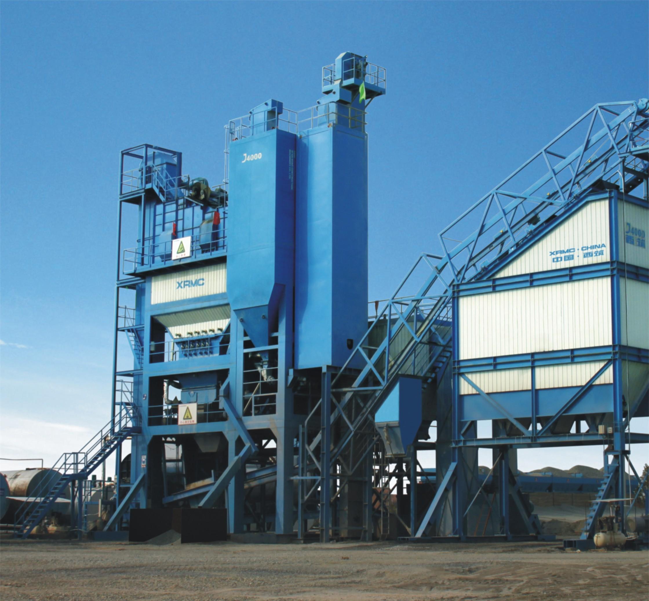 中交西筑J4000沥青混合料搅拌设备