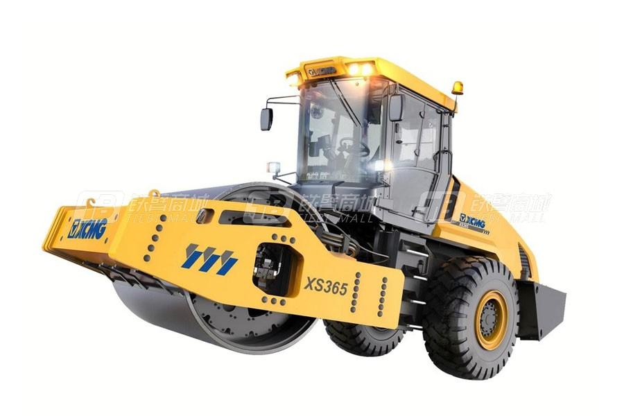 徐工XS365全液压单钢轮压路机