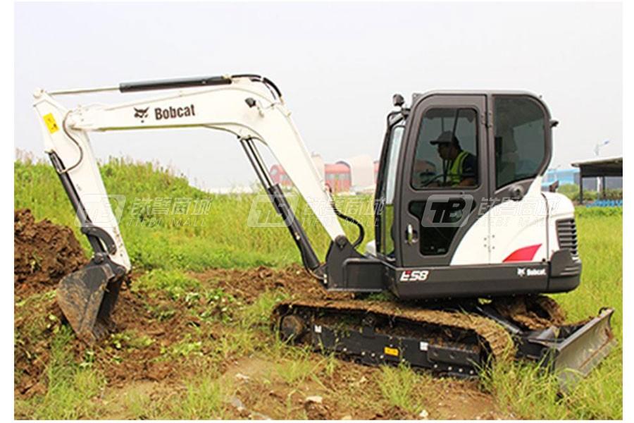 山猫E58履带挖掘机
