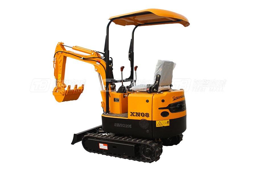 犀牛重工XN08履带挖掘机