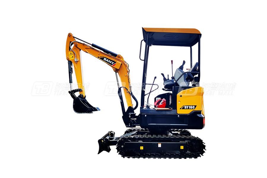 三一SY16C微型挖掘机