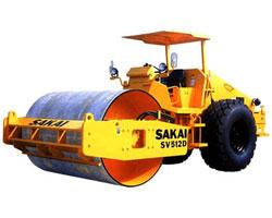 酒井SV512D/512T/512TF单钢轮压路机